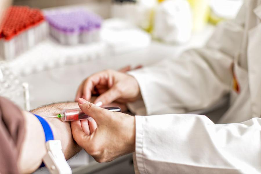 взятие крови на ПЦР гепатита С